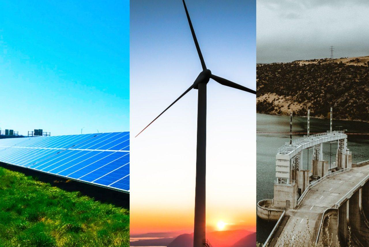 Sol, vind eller vattenel - vilket är bäst för klimatet?
